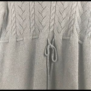 MICHAEL Michael Kors Sweaters - Michael Kors Sz L Cable Knit Drawstring Tunic